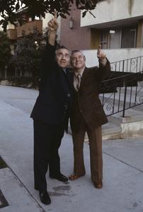 Jerry Siegel and Joe Shuster (creators of Superman character for the original comics) 1979 © 1979 Ulvis Alberts - Image 10674_0006