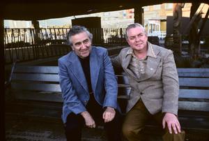 Jerry Siegel and Joe Shuster (creators of Superman character for the original comics)1979 © 1979 Ulvis Alberts - Image 10674_0008