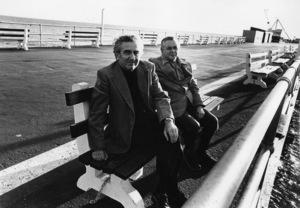Jerry Siegel and Joe Shuster (creators of Superman character for the original comics) 1979 © 1979 Ulvis Alberts - Image 10674_0015