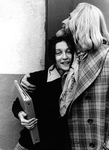 John Drew Barrymore and Ildiko Jaid1973 © 1978 Ulvis Alberts - Image 10685_0007