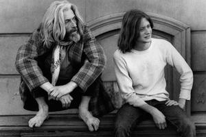 John Drew Barrymore and son John Blyth Barrymore1973 © 1978 Ulvis Alberts - Image 10685_0008