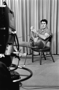 Jack LaLanne on his television showcirca 1969 © 1978 Gunther - Image 10686_0002