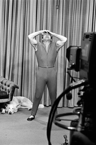 Jack LaLanne on his television showcirca 1969 © 1978 Gunther - Image 10686_0013