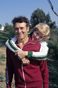 Jack LaLanne with his wife Elaine1976 © 1997 Ken Whitmore - Image 10686_0016