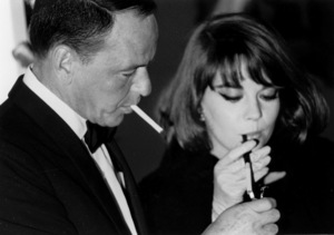 """My Fair Lady"" Premiere, 1964Frank Sinatra, Natalie Wood © 1978 Chester Maydole - Image 10706_0030"