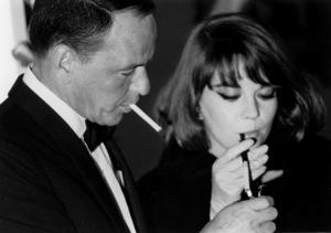"""My Fair Lady"" Premiere, 1964Frank Sinatra, Natalie Wood © 1978 Chester Maydole - Image 10706_0030"