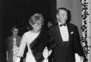"""""""My Fair Lady"""" PremiereGloria Stewart & James Stewart1964 © 1978 Kim Maydole Lynch - Image 10706_0032"""