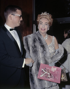 "Joan Crawford at the New York premiere of ""My Fair Lady"" October 21, 1964Photo by Irv Steinberg** B.D.M. - Image 10706_0036"