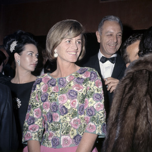 """Jean Kennedy Smith at the New York premiere of """"My Fair Lady"""" October 21, 1964Photo by Irv Steinberg** B.D.M. - Image 10706_0037"""