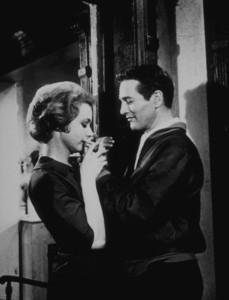 """The Hustler,""Piper Laurie and Paul Newman.1961 20th Century - Image 10712_0001"
