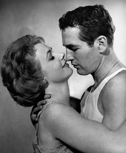 """""""The Hustler""""Piper Laurie, Paul Newman1961 20th Century Fox** I.V. - Image 10712_0023"""