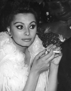 """Academy Awards: 35th Annual""Sophia Loren, 1963 © 1978 Chester Maydole - Image 10724_0019"