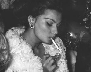 """Academy Awards: 35th Annual""  1963Sophia Loren © 1978 Chester Maydole - Image 10724_0022"