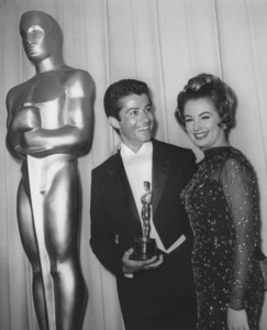 """Academy Awards - 35th Annual""Shirley Jones, Chakiris1963Photo by Joe Shere - Image 10724_0024"