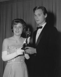 """""""Academy Awards: 35th Annual""""Patty Duke, Brandon De Wilde1963**I.V. - Image 10724_0025"""