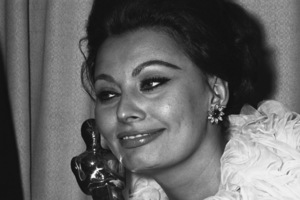 """The 35th Annual Academy Awards""Sophia Loren1963© 1978 Chester Maydole - Image 10724_0030"