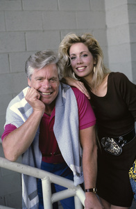 Doug McClure with daughter Tane1987 © 1987 Gene Trindl - Image 10725_0006