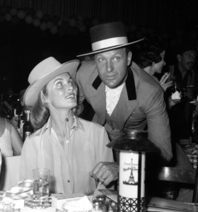 """""""Share Party""""Rosemarie Stack, Robert Stack 1960 © 1978 David Sutton - Image 10730_0010"""