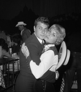 """""""Share Party""""Tony Curtis, Janet Leigh1960 © 1978 David Sutton - Image 10730_0012"""