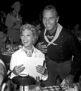"""""""Share Party""""Dinah Shore, George Montgomery1960 © 1978 David Sutton - Image 10730_0013"""