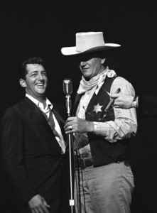 """Share Party""Dean Martin, John Wayne1960 © 1978 David Sutton - Image 10730_0014"