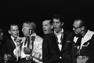 """Share Party""Frank Sinatra, George Burns, Milton Berle, Dean Martin, Jack Benny1960 © 1978 David Sutton - Image 10730_0015"