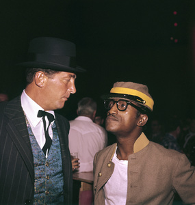"""Share Party""Dean Martin, Sammy Davis Jr.1960 © 1978 Bernie Abramson - Image 10730_0019"