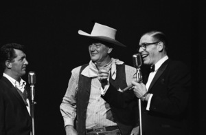 """Share Party""Dean Martin, John Wayne, Milton Berle1960© 1978 David Sutton - Image 10730_0020"