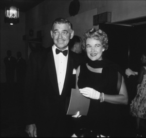 """""""Big Country"""" Premeire,Clark Gable and wife Kay Spreckles, 1958. © 1978 Bernie Abramson - Image 10749_0001"""