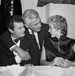 """Judy Garland Testimonial"" Tony Curtis, Jeff Chandler, Janet Leigh circa 1958 © 1978 Bernie Abramson - Image 10750_0005"