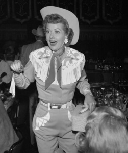 """""""Share Party""""Lucille Ball1958 © 1978 Bernie Abramson - Image 10751_0002"""