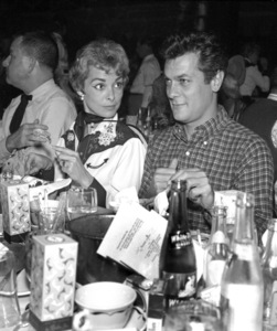 """""""Share Party""""Janet Leigh, Tony Curtis1958 © 1978 Bernie Abramson - Image 10751_0003"""