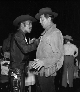 """""""Share Party""""Sammy Davis Jr., Dean Martin1958 © 1978 Bernie Abramson - Image 10751_0004"""