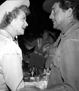 """Share Party""Lucille Ball, Dean Martin1958 © 1978 Bernie Abramson - Image 10751_0006"