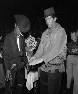 """""""Share Party""""Sammy Davis Jr., Dean Martin1958 © 1978 Bernie Abramson - Image 10751_0007"""