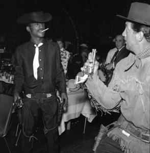 """""""Share Party""""Sammy Davis Jr., Dean Martin1958 © 1978 Bernie Abramson - Image 10751_0010"""