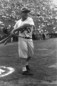"""Celebrity Baseball""Mickey Rooney1959 © 1978 Bernie Abramson - Image 10752_0012"