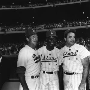 """Celebrity Baseball""Dean Martin, Nat"