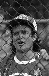 """Celebrity Softball Game"" Robin Williamscirca 1978 © 1978 Gunther - Image 10752_0027"
