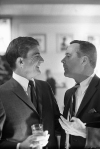 Blake Edwards and Jack Lemmon at a Paramount party for Blakecirca 1960s © 1978 Bernie Abramson - Image 10758_0001