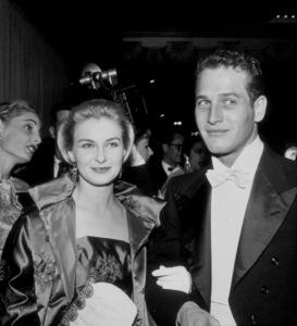 """Academy Awards: 30th Annual,"" Joanne Woodward and Paul Newman. 1958. © 1978 Bernie Abramson"