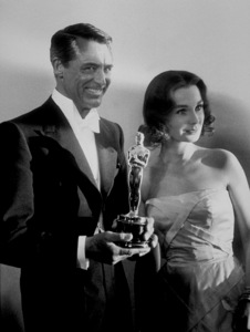 """""""Academy Awards: 30th Annual,"""" Cary Grant and Jean Simmons. 1958. © 1978 Sid Avery - Image 10764_0008"""