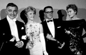 """""""Academy Awards: 30th Annual,"""" Clark Gable, Doris Day, Kim Novak. 1958. © 1978 Sid Avery - Image 10764_0013"""