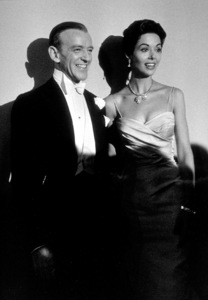 """""""Academy Awards: 30th Annual,"""" Fred Astaire and Dana Wynter. 1958. © 1978 Sid Avery - Image 10764_0019"""