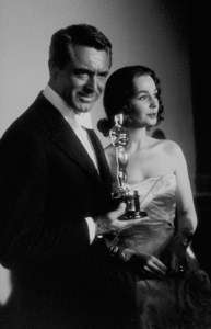 """""""Academy Awards: 30th Annual,"""" Cary Grant, Jean Simmons. 1958. © 1978 Sid Avery - Image 10764_0020"""
