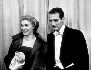 """The 30th Annual Academy Awards"" Paul Newman, Joanne Woodward 1958 © 1978 Sid Avery - Image 10764_0023"