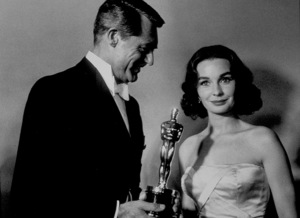"""""""Academy Awards: 30th Annual,"""" Cary Grant and Jean Simmons. 1958. © 1978 Sid Avery - Image 10764_0025"""