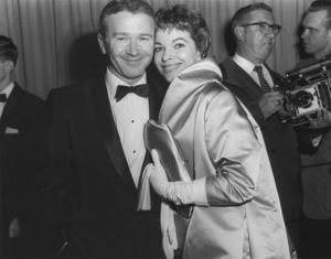 """Academy Awards - 30th Annual""Red Buttons and wife Melayne McNorton1958**I.V. - Image 10764_0050"