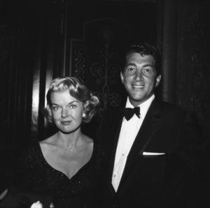 """Academy Awards - 30th Annual""Jeanne Martin, Dean Martin1958 © 1978 Bernie Abramson - Image 10764_0063"
