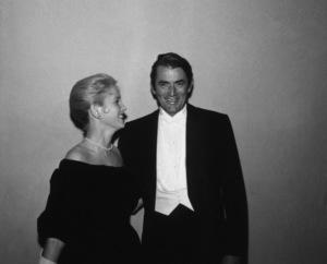 """Academy Awards - 30th Annual""Eva Marie Saint, Gregory Peck1958 © 1978 Bernie Abramson - Image 10764_0064"